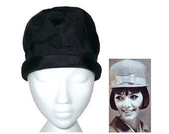 What Modness Is This? - Vintage 1960's Domed Cloche Hat, Vintage 1960's Ladies Bowler Hat