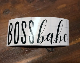 Boss Babe Decal