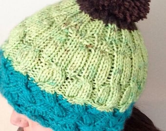 Cable Knit Hat- Free Shipping!