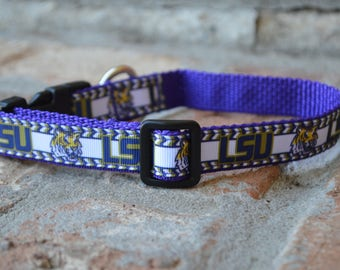LSU Dog Collar
