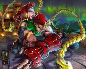 Cammy- Street Fighter / Quality Art Print