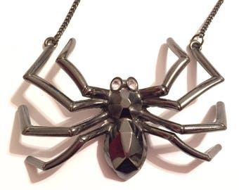 Spider necklace (large)