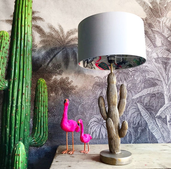 Chimiracle grey silhouette lampshade LOVE FRANKIE X MnB