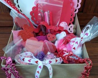 Valentine's/Heart Themed Learning Activity Box