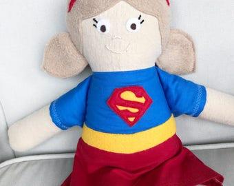 CUSTOM Supergirl Doll