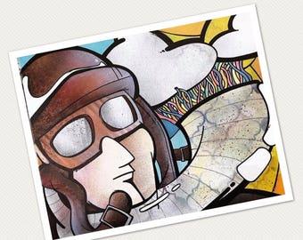 Giclée Print - Be Your Own Pilot