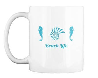 Seahorse Beach Mug