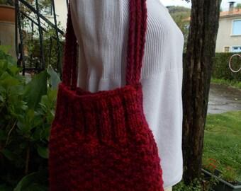 Handmade bag lined