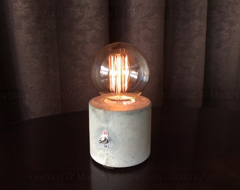 Concrete Table Lamp 2016