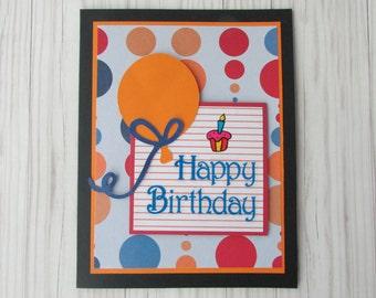 Park bench hand made happy birthday cardgreeting birthday card greeting cardsballoon birthday cardscupcake cards5 x 7 m4hsunfo