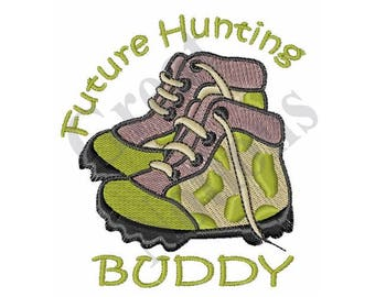 Future Hunting Buddy - Machine Embroidery Design
