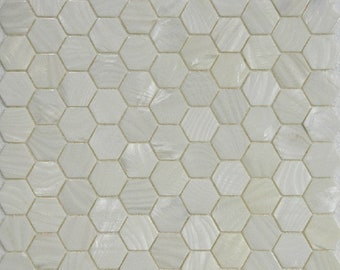 Hexagon Mother of pearl mosaic for kitchen tile MOP038 white mother of pearl freshwater shell mosaics