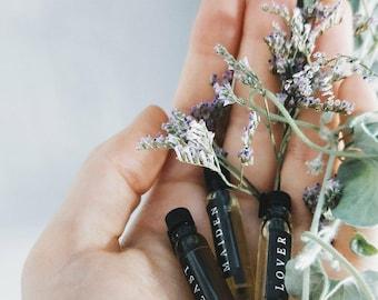 Natural Perfume Oils, Sample Set