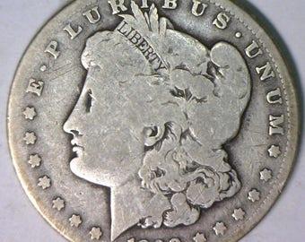 1890-CC Morgan Dollar G
