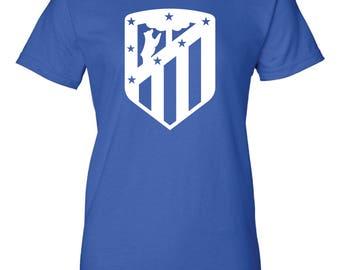 Athletico Madrid Women's Cut T-Shirt