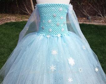 Queen Elsa tutu dress/Elsa costume /Elsa tutu/Elsa tutu dress/Elsa tutu costume/princess Elsa/queen Elsa costume