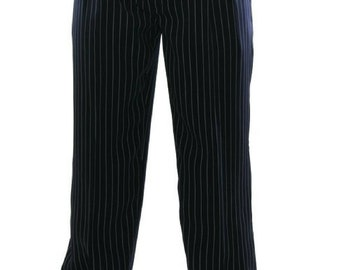 Men's Dark Blue Tango Pants | Tango Clothes for Men | Men's Tango Trousers