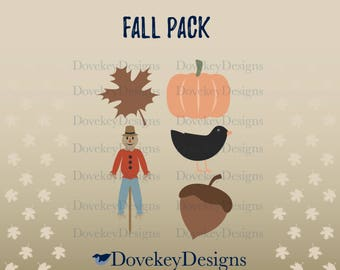 Fall Pack for Cricut/Silhouette (svg)