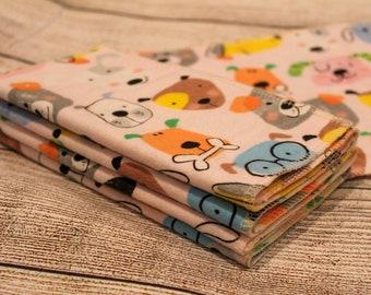 Dog cloth wipes set of 8