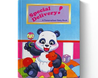 Special Delivery*Personalized Baby Book