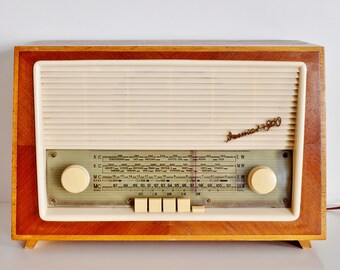 60 ' s original tube radio Weimar 4960 tube radio 60 s