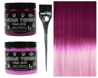 DIY Ombre Pink Hair Dye KIt