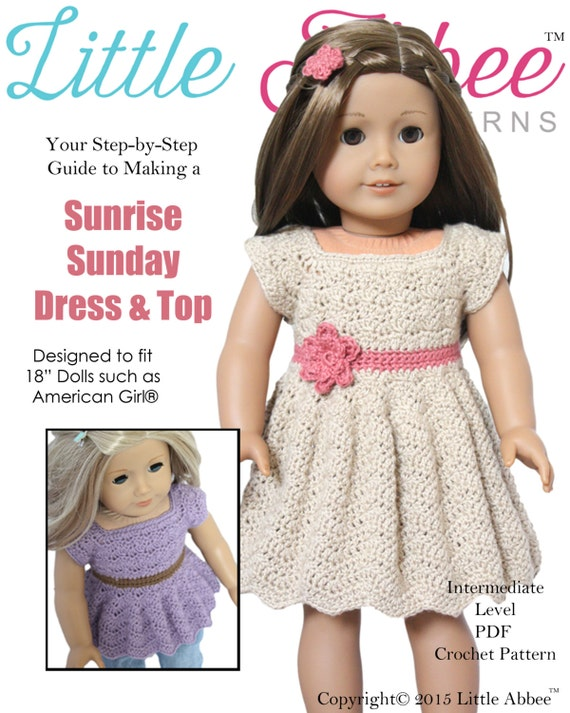 photograph relating to Free Printable 18 Inch Doll Clothes Patterns identified as 55+ No cost Crochet Habits for American Woman Dolls in the direction of create