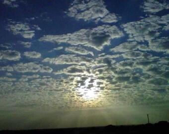 Sunrise in Midwest Missouri