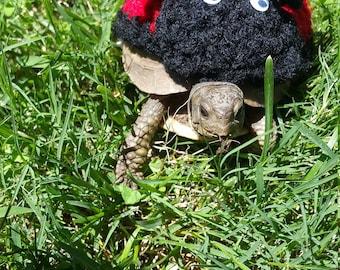 Ladybug/Ladybird Costume for Turtles/ Tortoises (Please Provide Measurements)