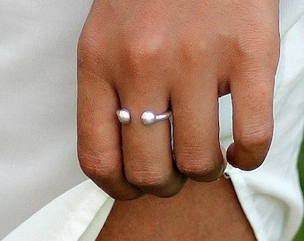 Piercing finger ring | Etsy