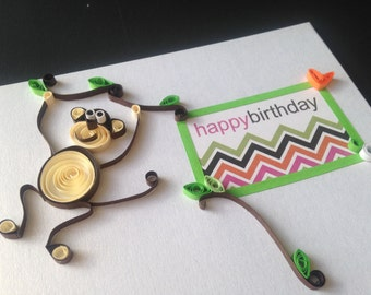 Birthday Cards, Handmade Quilling Cards