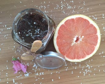 Raw Coconut & Grapefruit Sugar Scrub