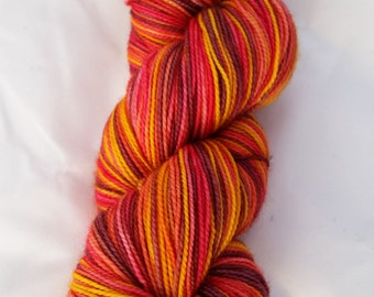 Pony Up! Desmos Sock Hand Dyed Fingering Weight Yarn