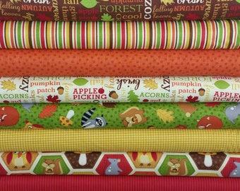 Autumn Welcome Fall Bundle from Northcott Fabrics by Deborah Edwards - 11 Fabrics Total