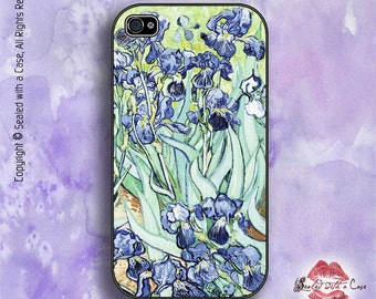 """Vincent Van Gogh """"Iris"""" - iPhone 4/4S 5/5S/5C/6/6+ and now iPhone 7 cases!! And Samsung Galaxy S3/S4/S5/S6/S7"""