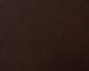 """Brown 100% Cotton Voile Fabric Solid Pattern 60"""" Wide By the Yard Apparel, Quilting"""