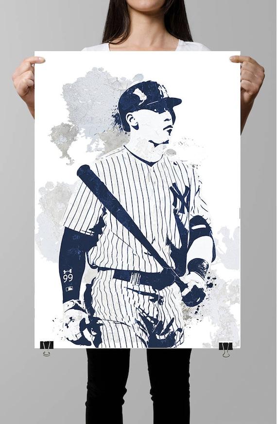 Aaron juez Nueva York Yankees deportes cartel Fan art arte