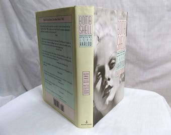 Bombshell - The Life and Death of Jean Harlow, David Stenn, Doubleday 1993 Hollywood Star Actress 1930's First Edition Book Biography