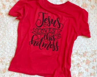 Jesus loves this hot mess// Adoption Fundraiser Tee // hand lettered
