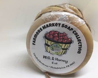 Farmers Market Soap-Milk & Honey