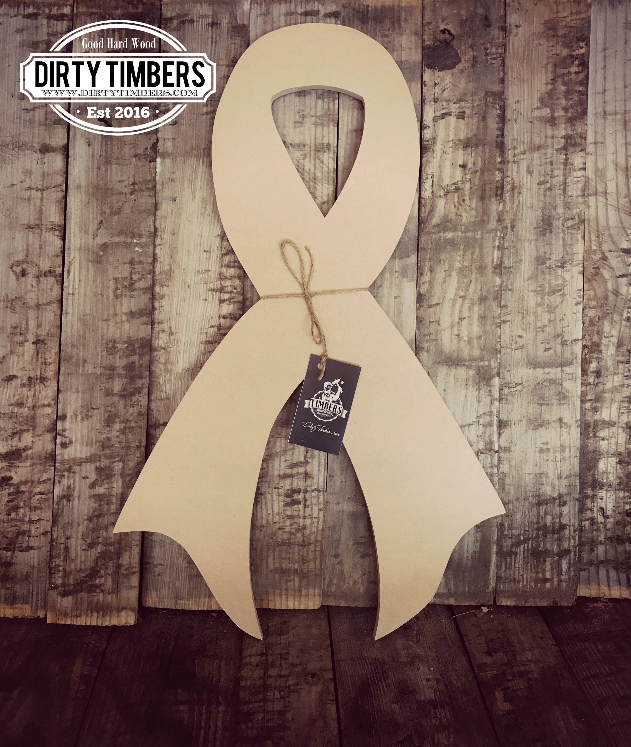 Unfinished, Cancer, Awareness, Ribbon, Door, Hanger, Relay, For, Life,  Unfinished, Ready To Paint, Wood, Custom, Blank, Cut Out, Cancer Free