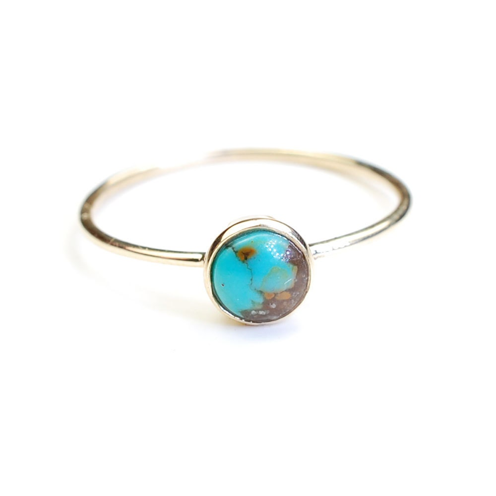 ring hollow large product stone rings zinc gold vintage turquoise for alloy women geometric tone eshkol blue plated