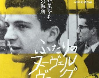 Godard and Truffaut Chirashi Poster