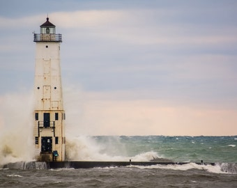 Lighthouse Photo - Lighthouse Photo Print - Nautical - Sea - Sea Photo - Digital Photo - Digital Download - Instant Download - Home Decor