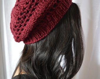 Basic Vibes | Maroon Slouch Hat