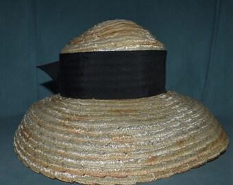 Vintage 1940's Gage Brothers Tilt Hat