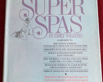 Reference Book:Secres From the Super Spas by Emily Wilkens/1976/ Hardback with Dust Cover/Free SH to US/Great Condition#941