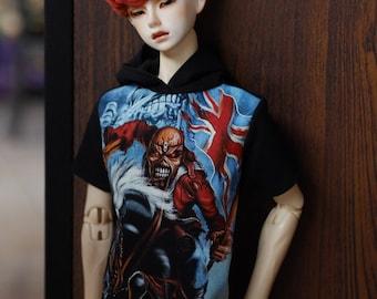 SD17 '88 Black hooded T-shirt