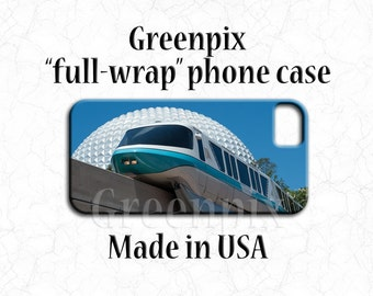 Disney iPhone X case, Disney phone case, iPhone 8 Plus, iPhone 7 Plus, iPhone 6 6S Plus, EPCOT iPhone case, Spaceship Earth iPhone case