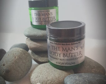 The Man's Body Butter